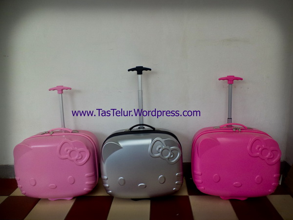 tas Trolley hello kitty